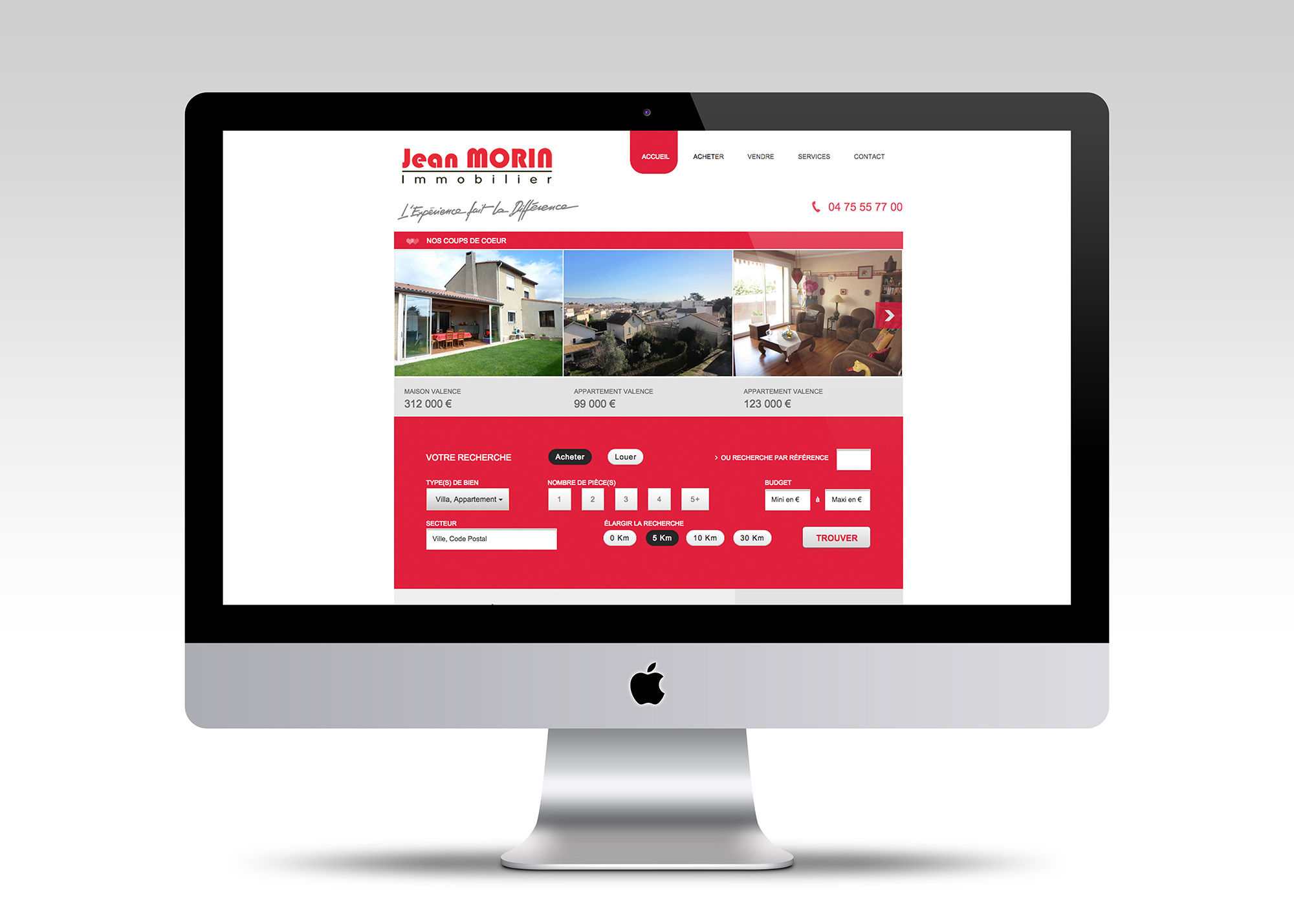 creation site internet valence mori immobilier
