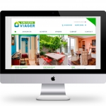 Webdesign du site internet Univers Viager site d'immobilier